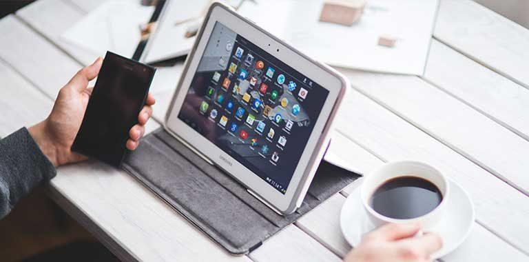 Del celular a la Tablet o Ipad
